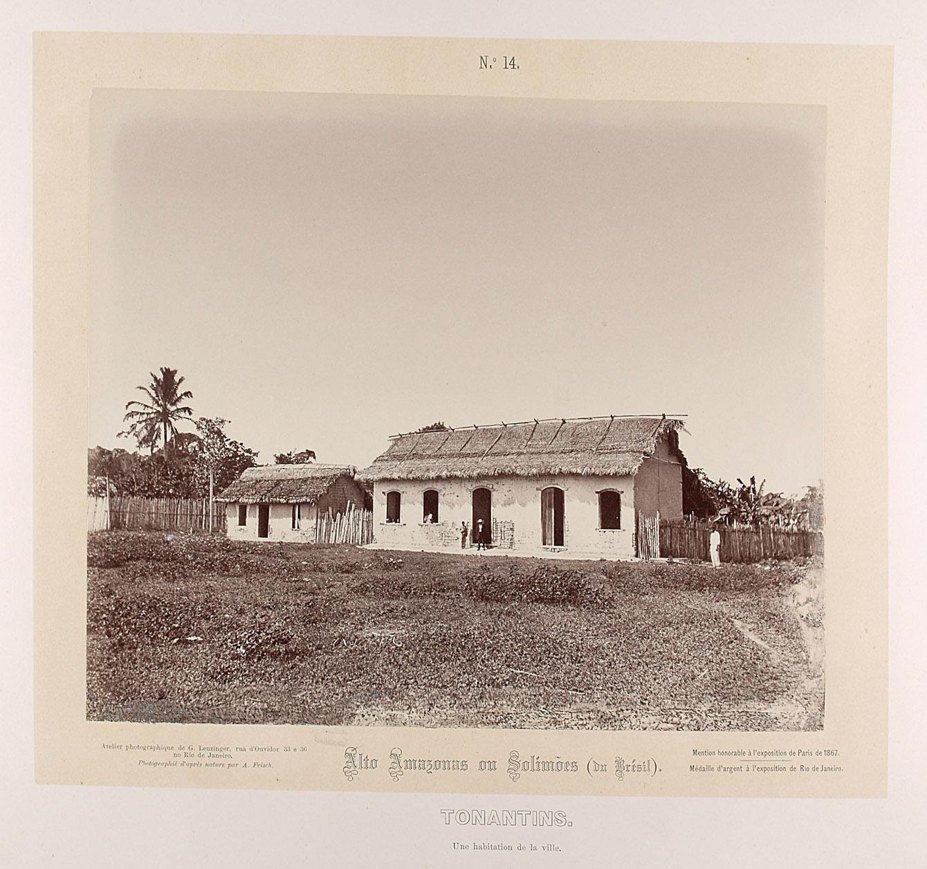 Zwei Häuser von Albert Frisch