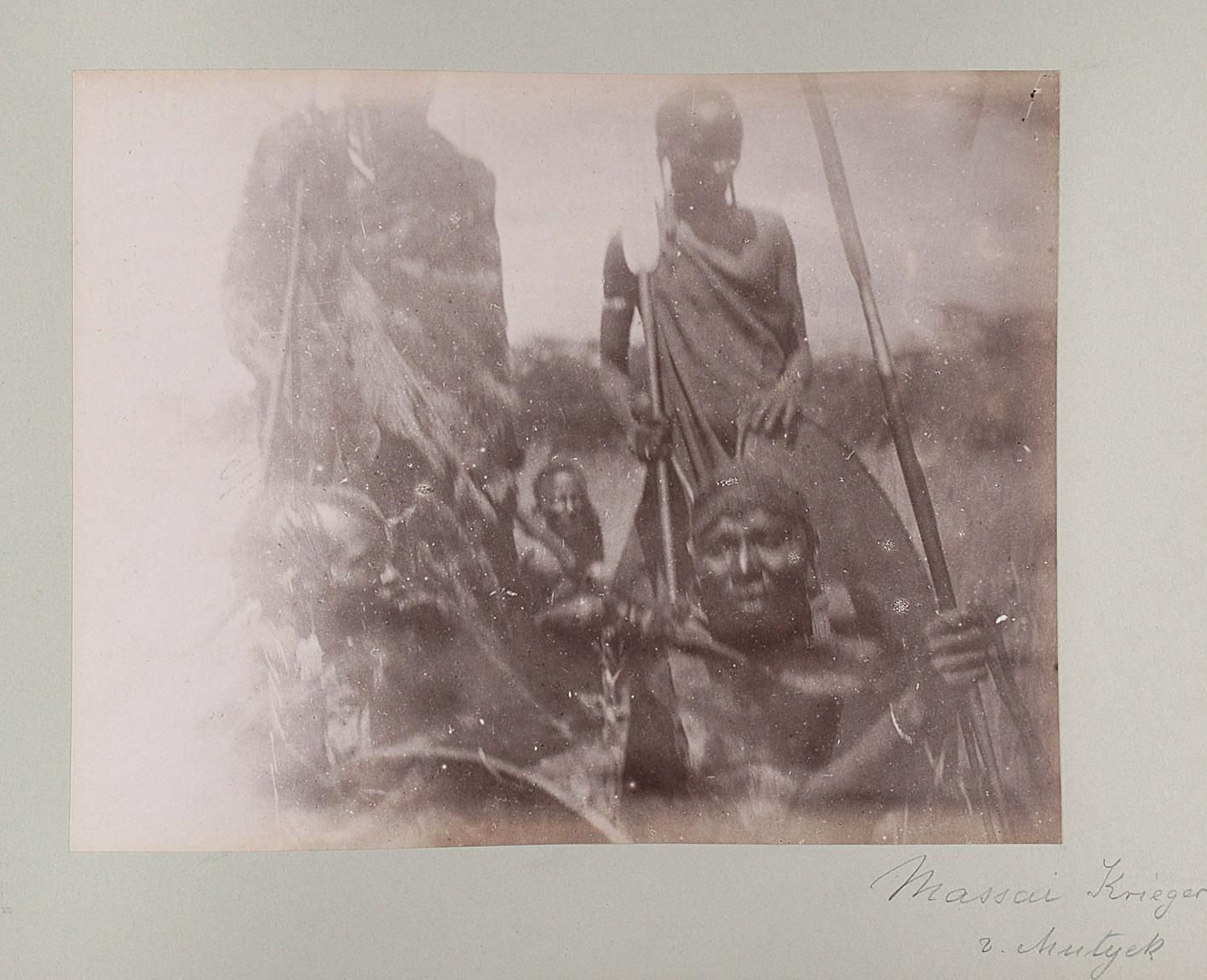 Massai Krieger v. Mutyek von Oscar Baumann