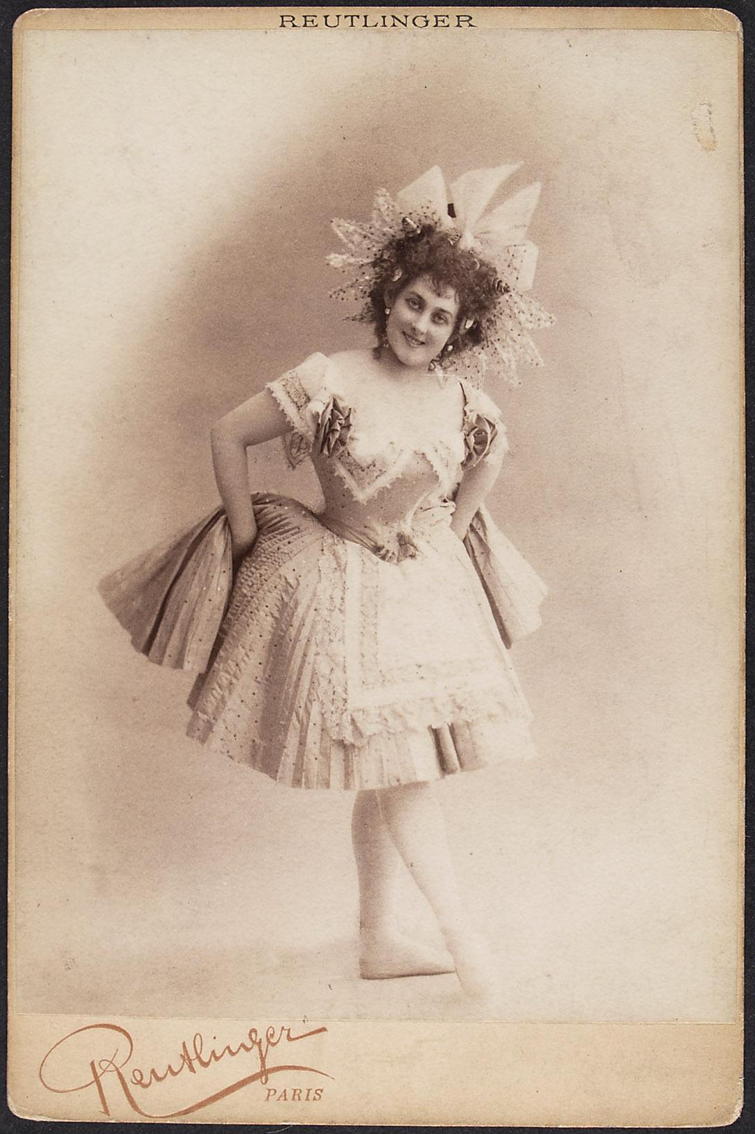 Marie de Labounskaya von Reutlinger, Paris