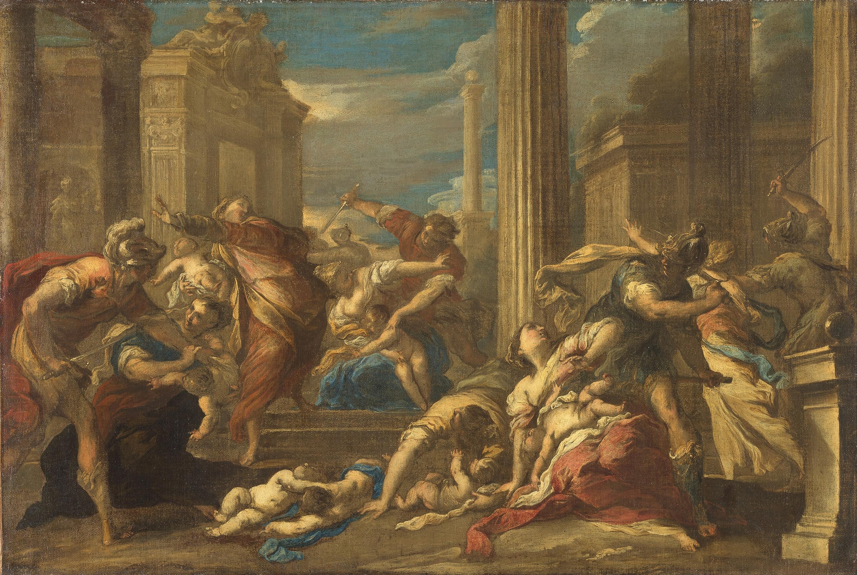 Bethlehemitischer Kindermord von Valerio Castello