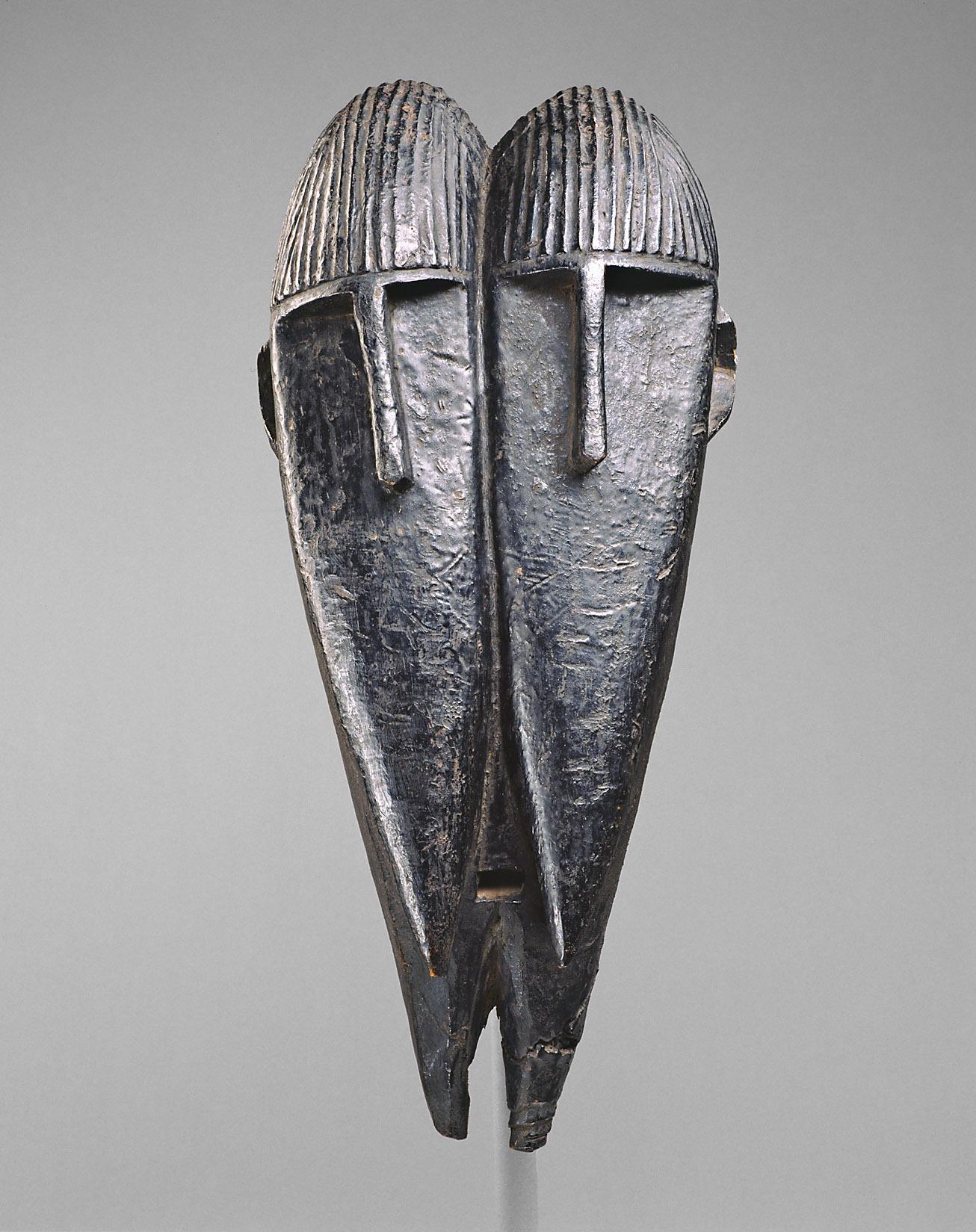 Doppelmaske von Unbekannter Meister der Baga