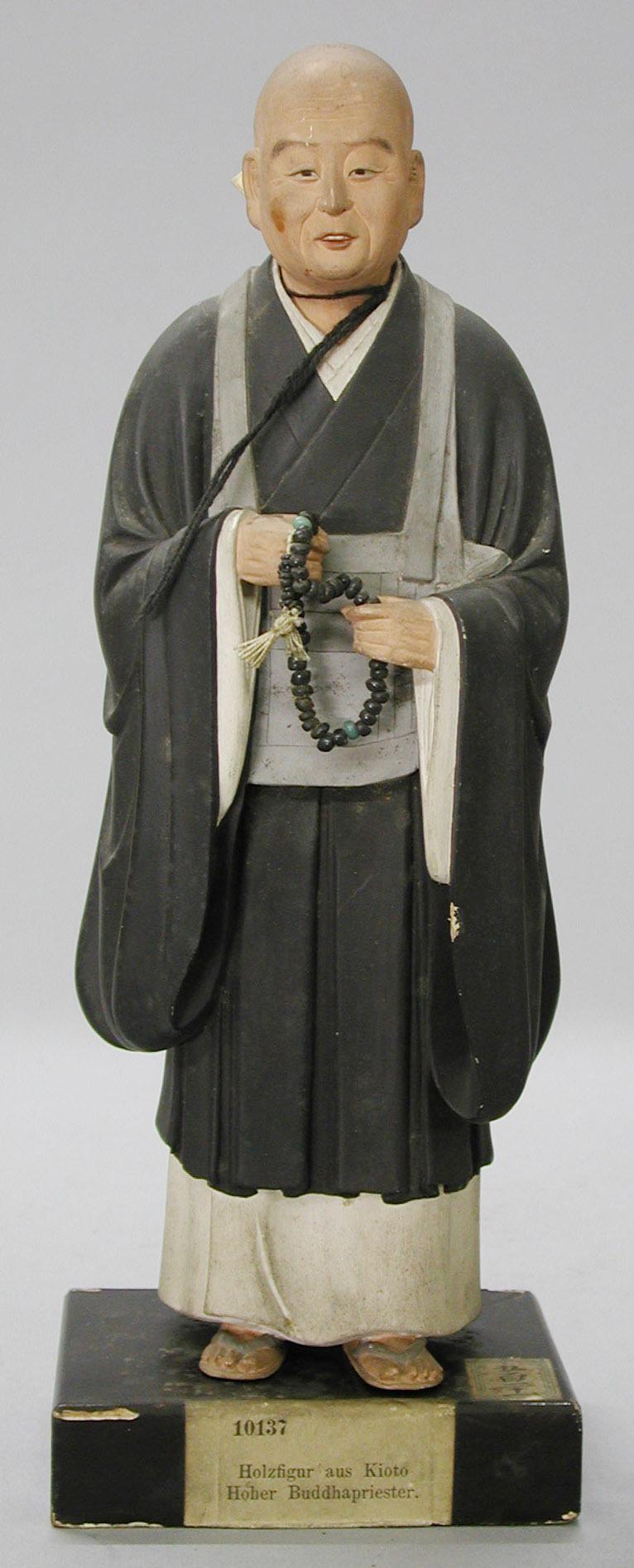 Figur eines buddhistischen Mönches