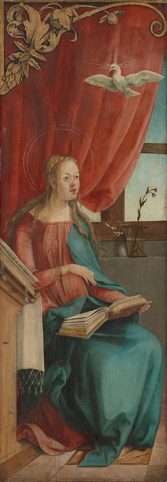 Verkündigung Mariae: Maria von Hans Sueß von Kulmbach