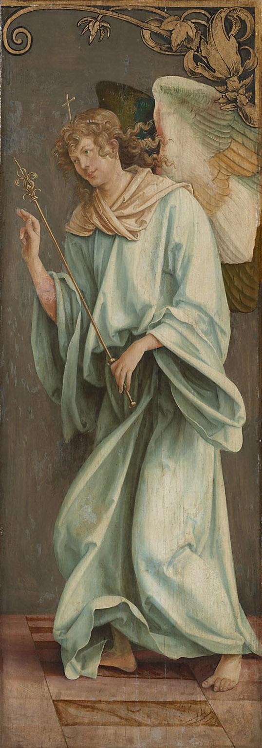 Verkündigung Mariae: Engel von Hans Sueß von Kulmbach