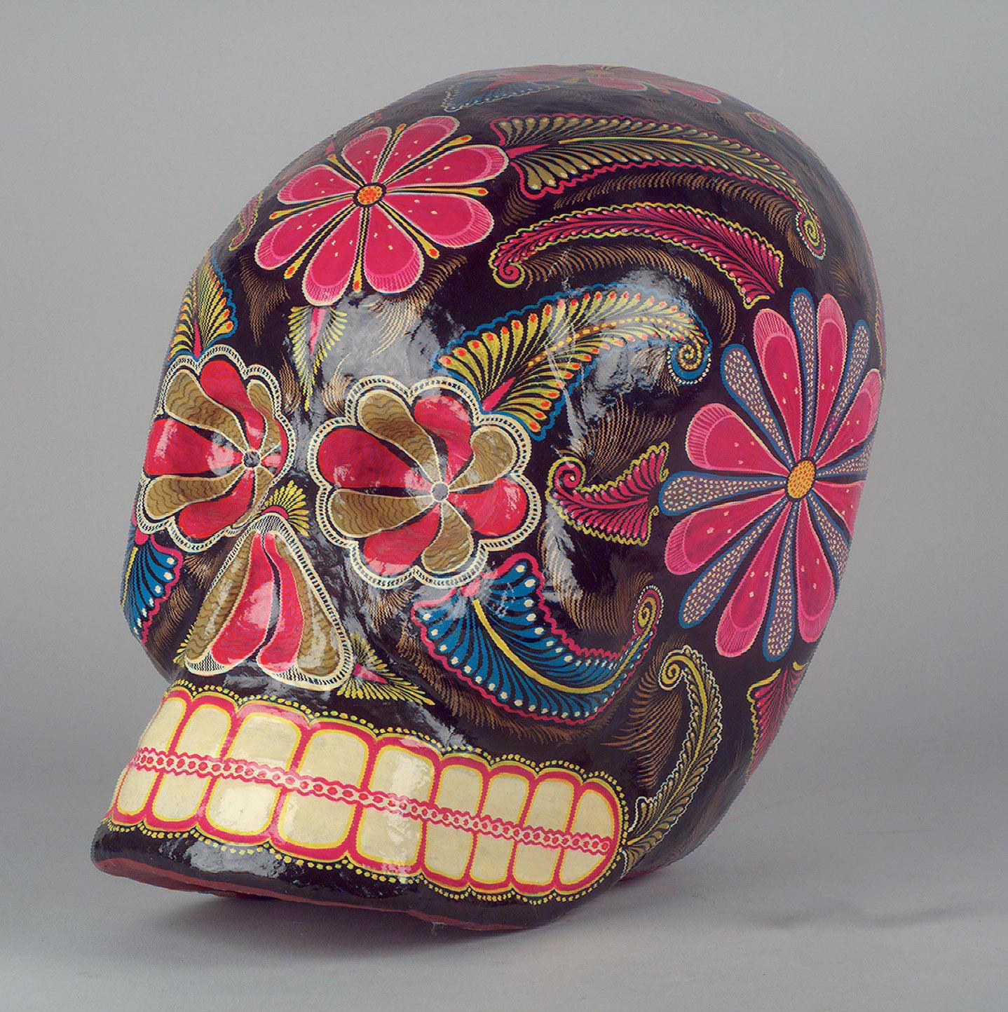Totenkopf von Pedro Linares López