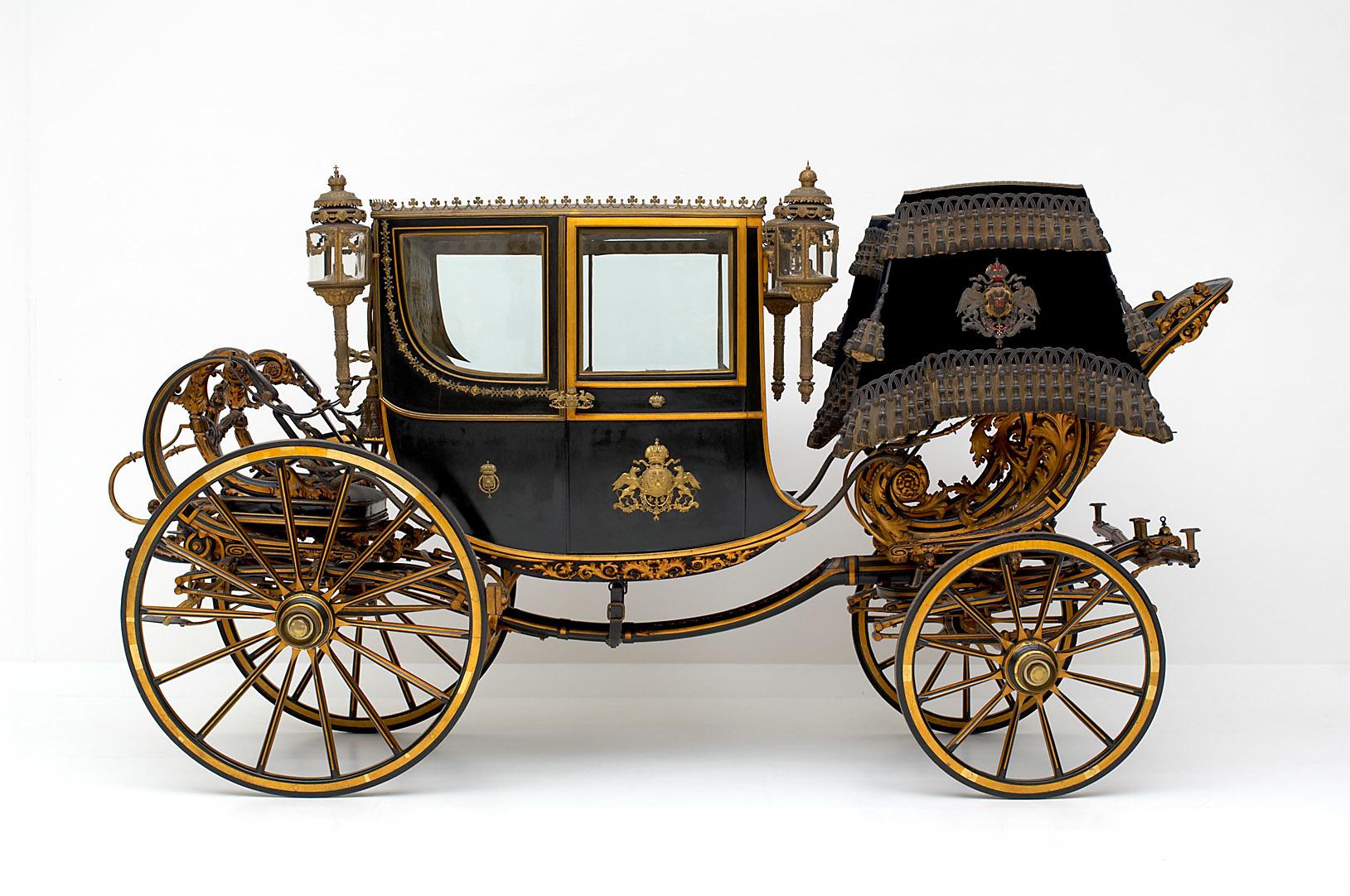 Reicher zweisitziger Leib-Stadtwagen von Cesare Sala