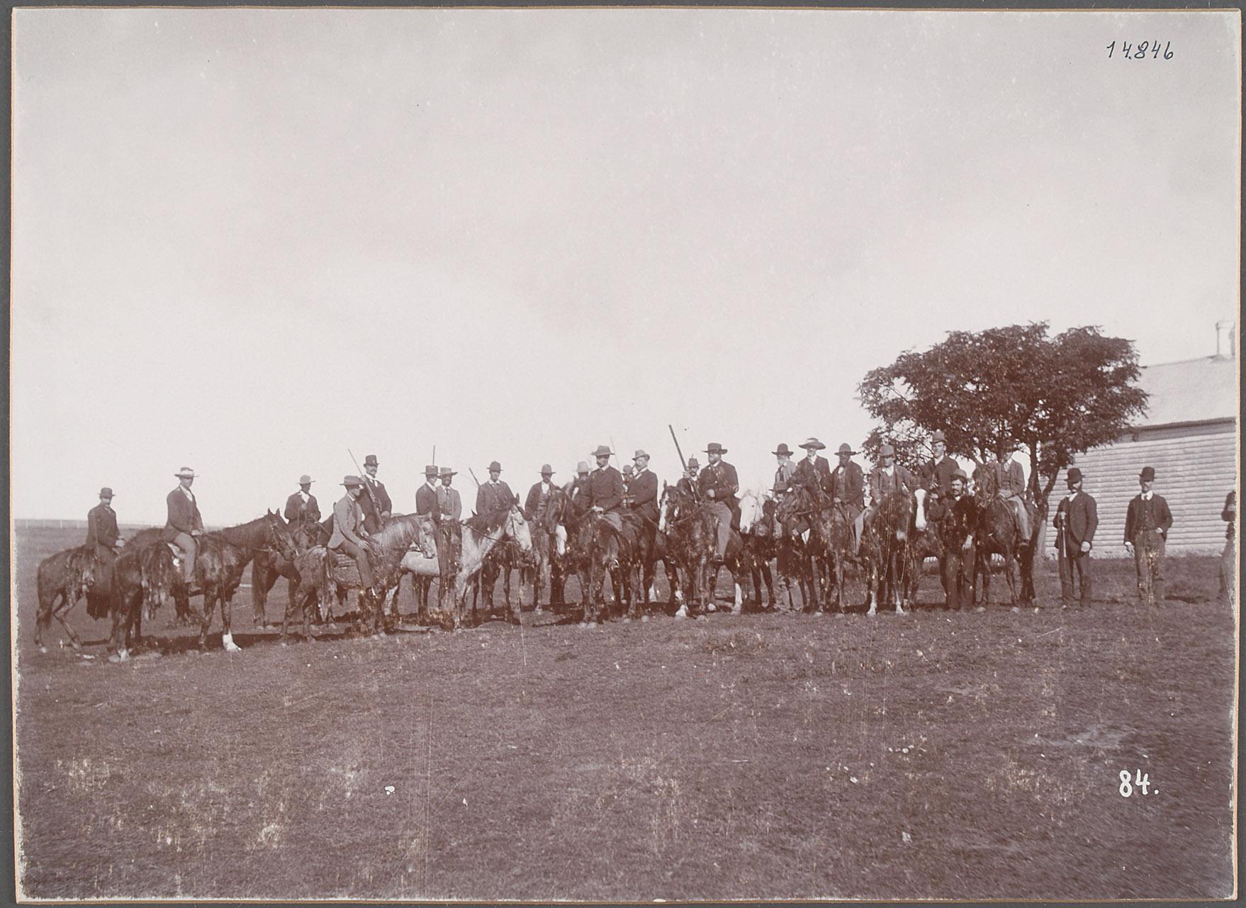 Australien, Arthurs Leigh Badgery Station. 24.V.1893 von Eduard Hodek jun.