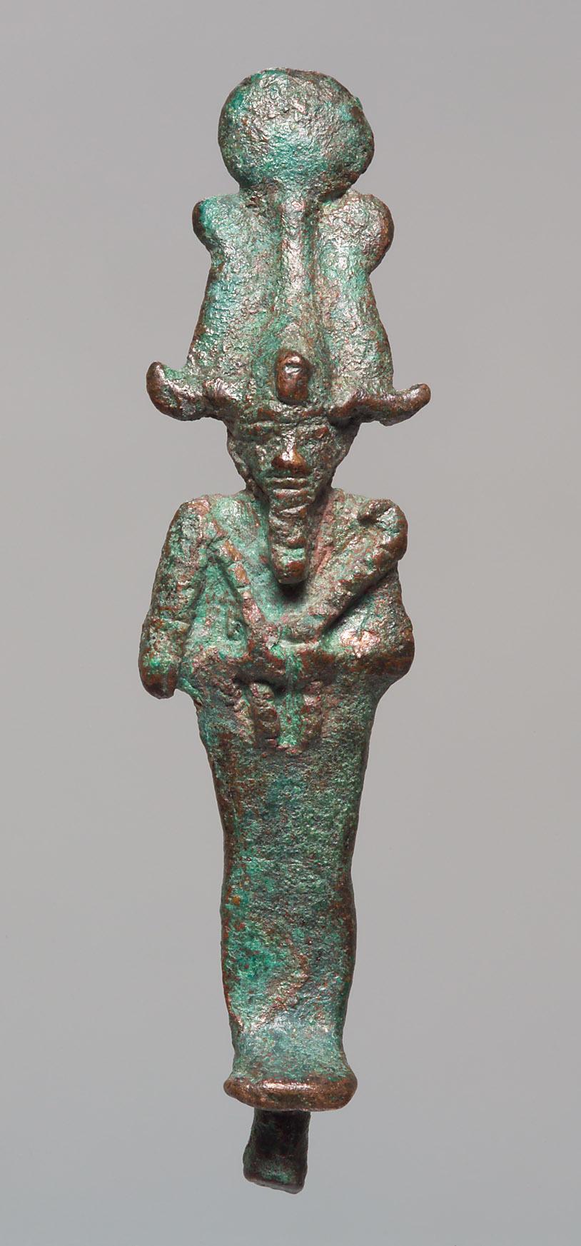 Kleine Osirisfigur