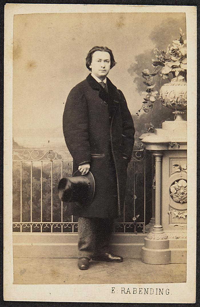 Adolf Ritter von Sonnenthal von Emil Rabending, Wien