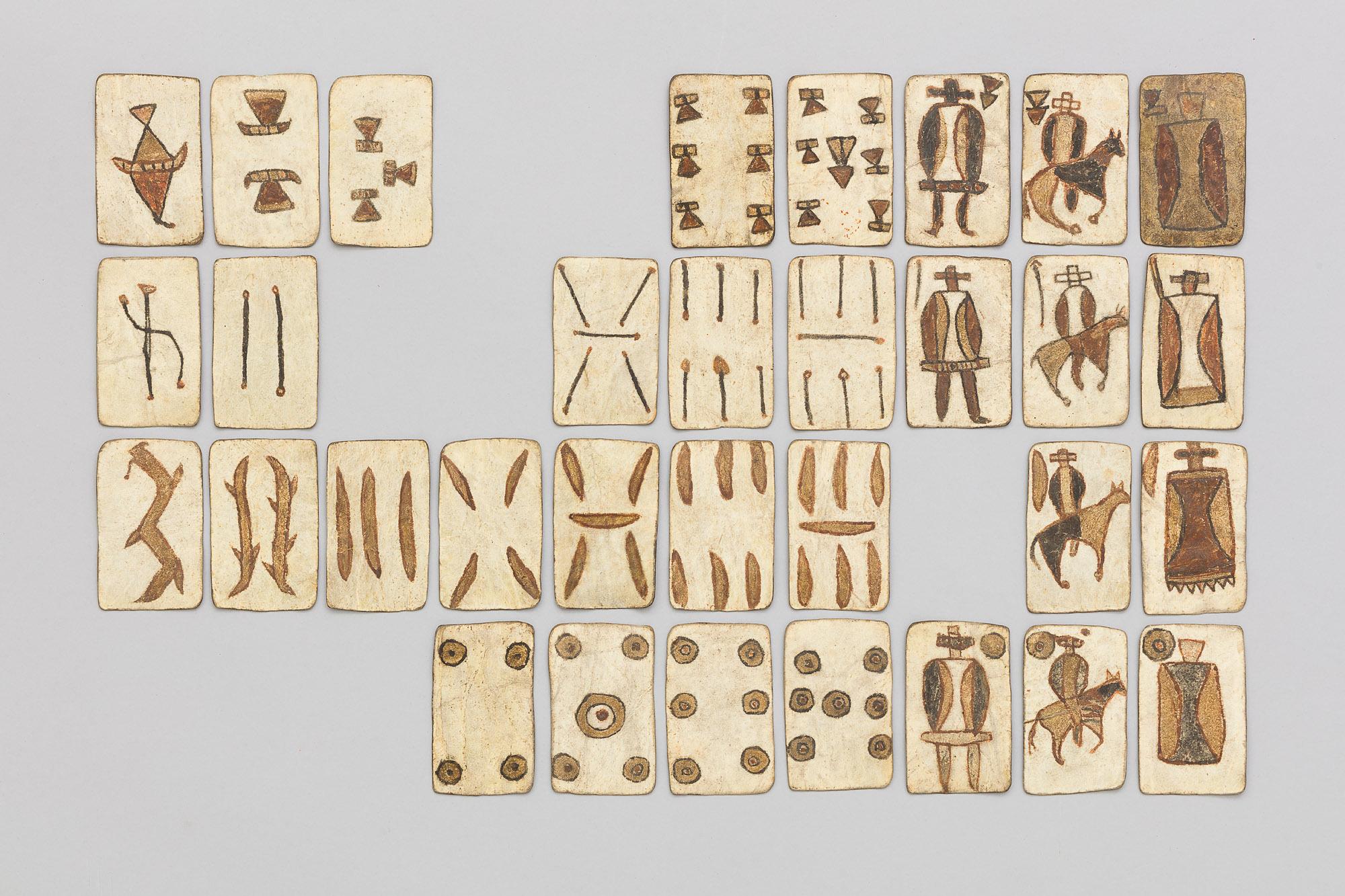32 Spielkarten