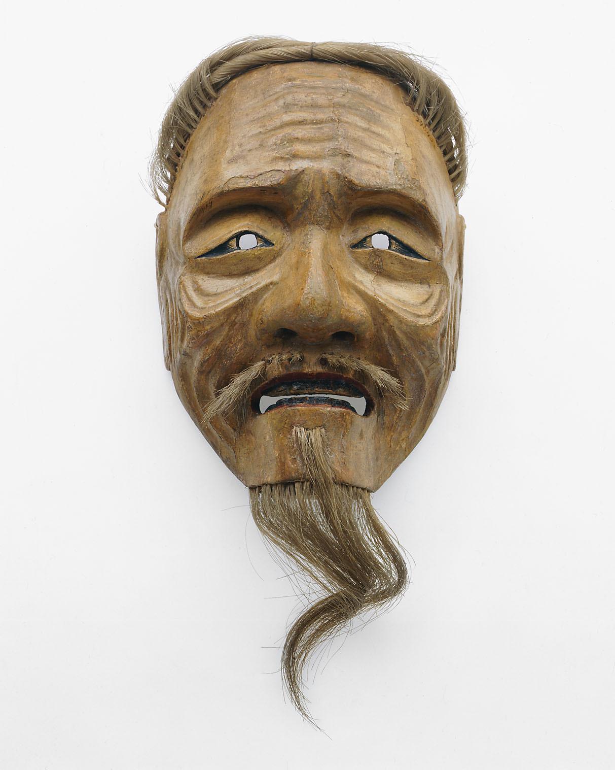Nō-Maske, Alter Mann