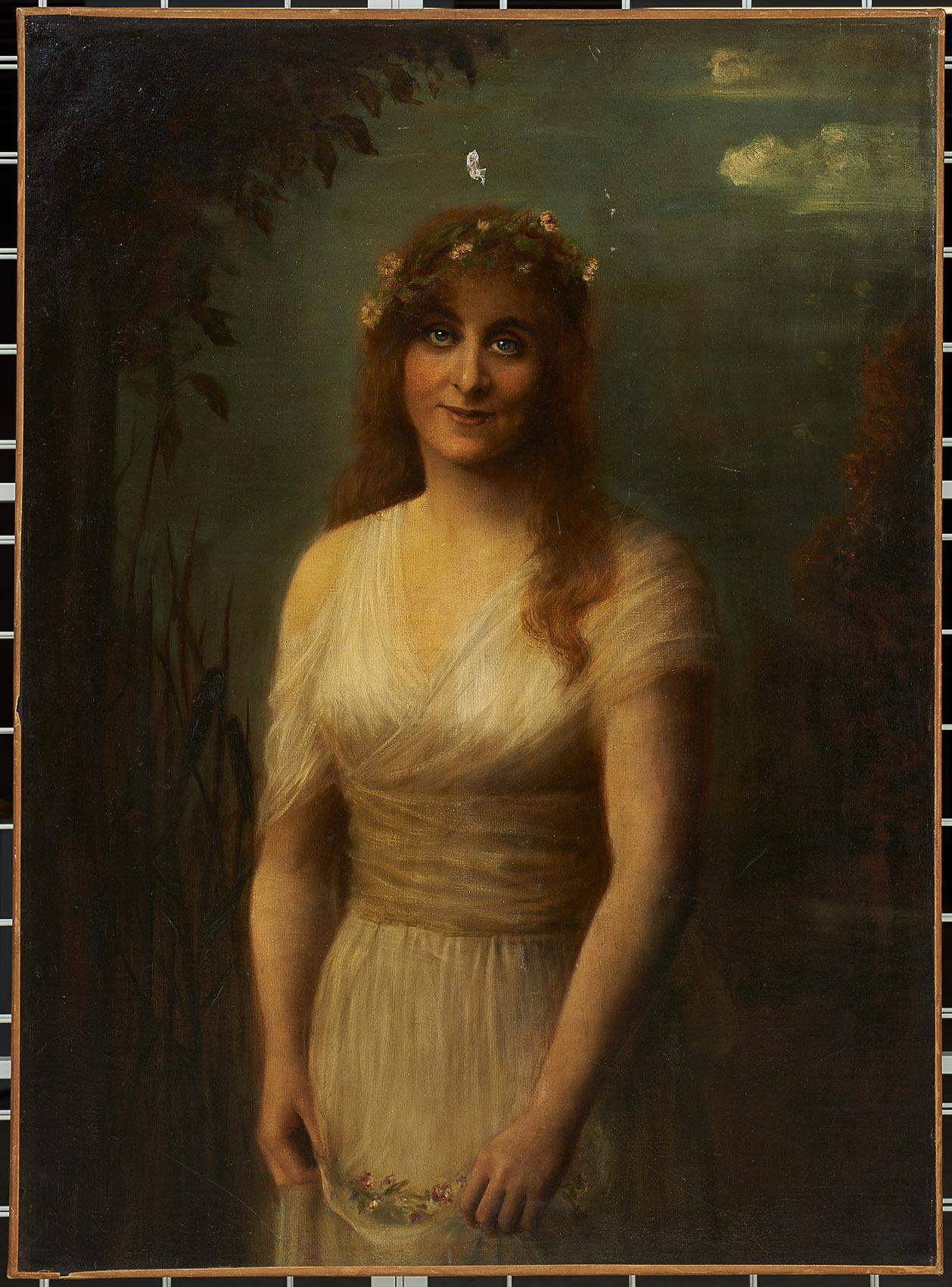 Stella Hohenfels als Ophelia von William Shakespeare