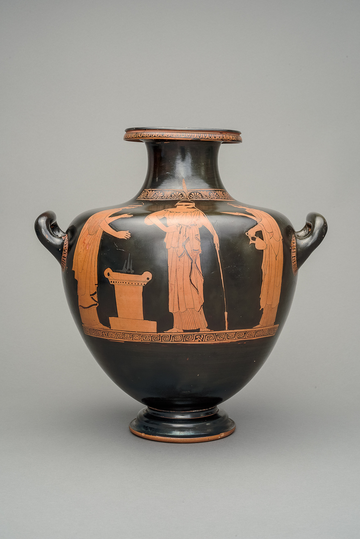 Athena beim Opfer