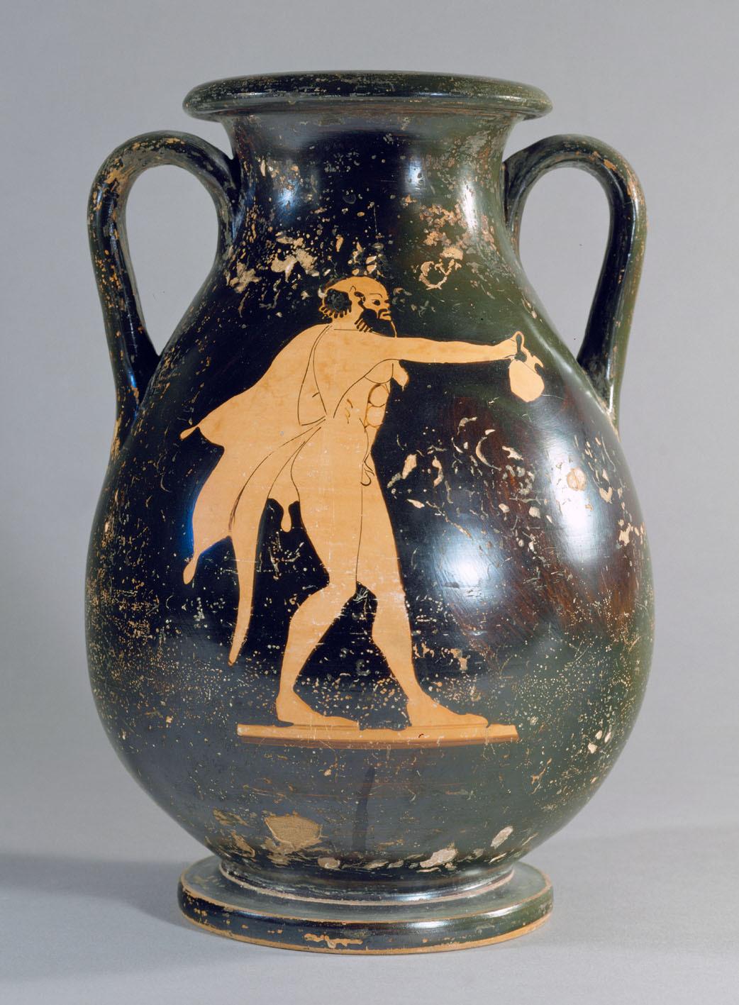 Silen und Dionysos