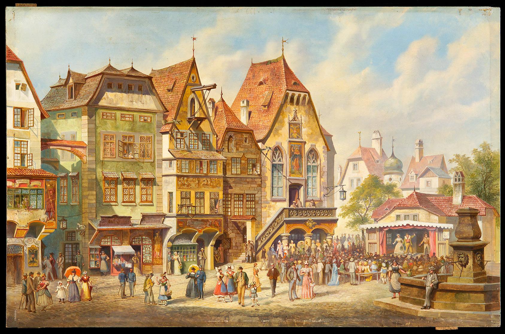 Hanswurstbühne von Gilbert Lehner