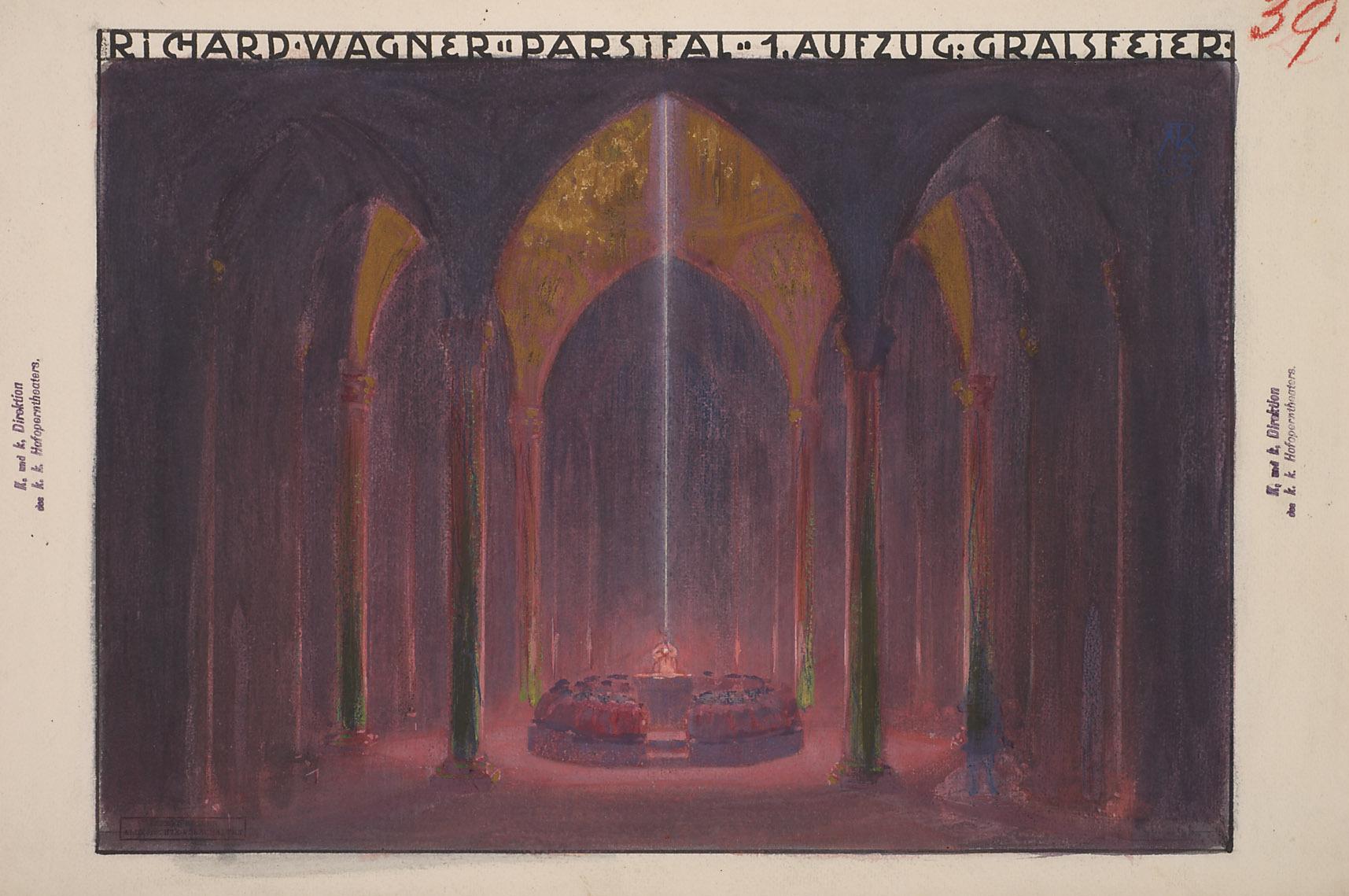 Parsifal von Alfred Roller