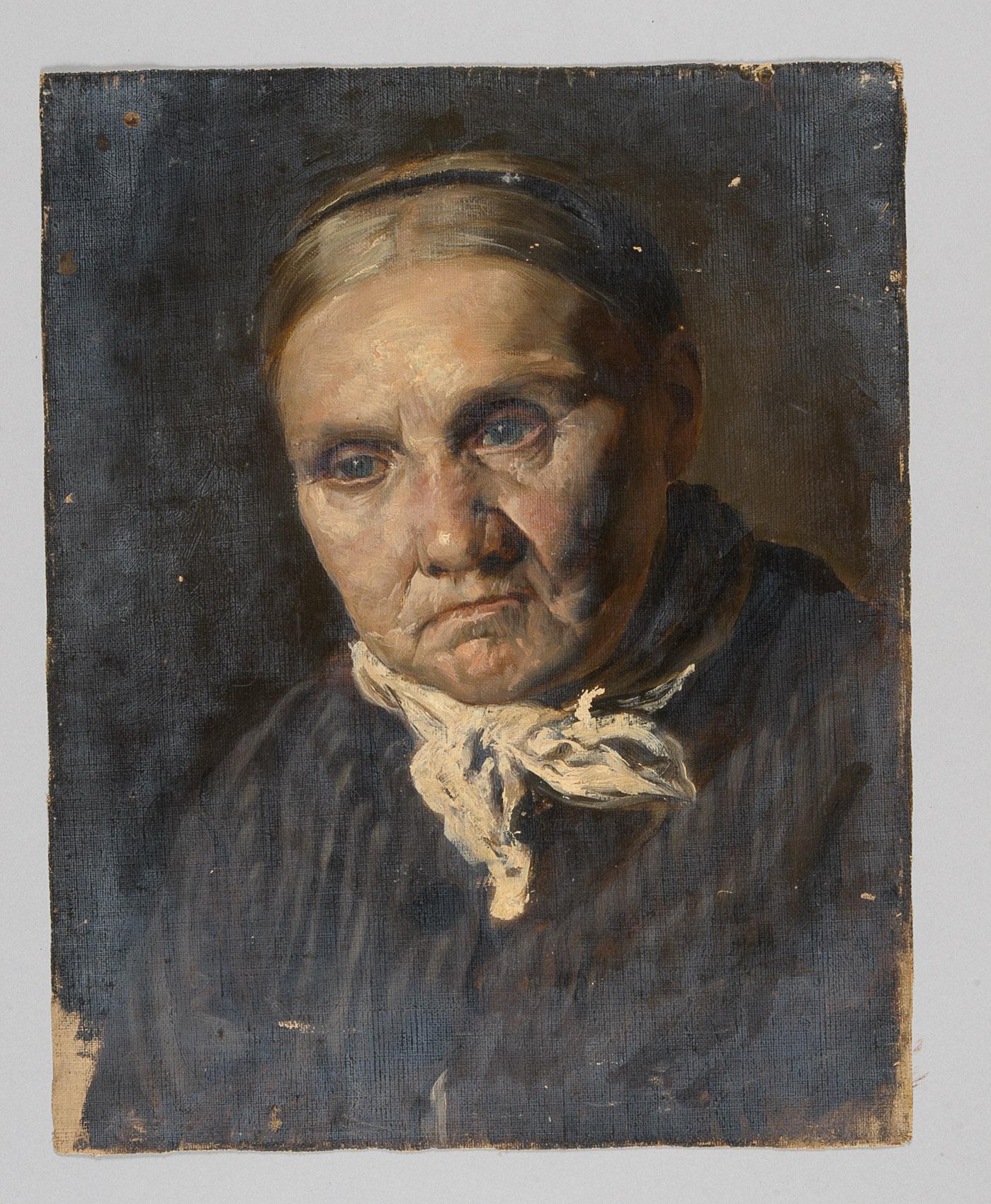 Weibliches Porträt von Alfred Roller