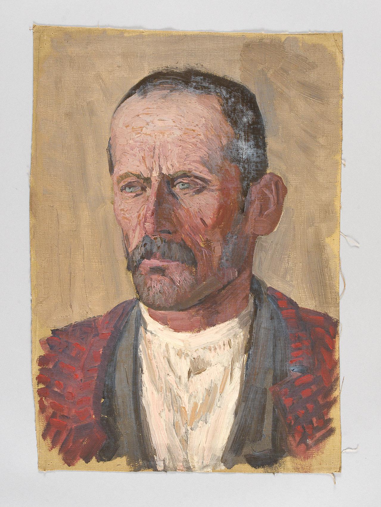 männliches Porträt von Alfred Roller