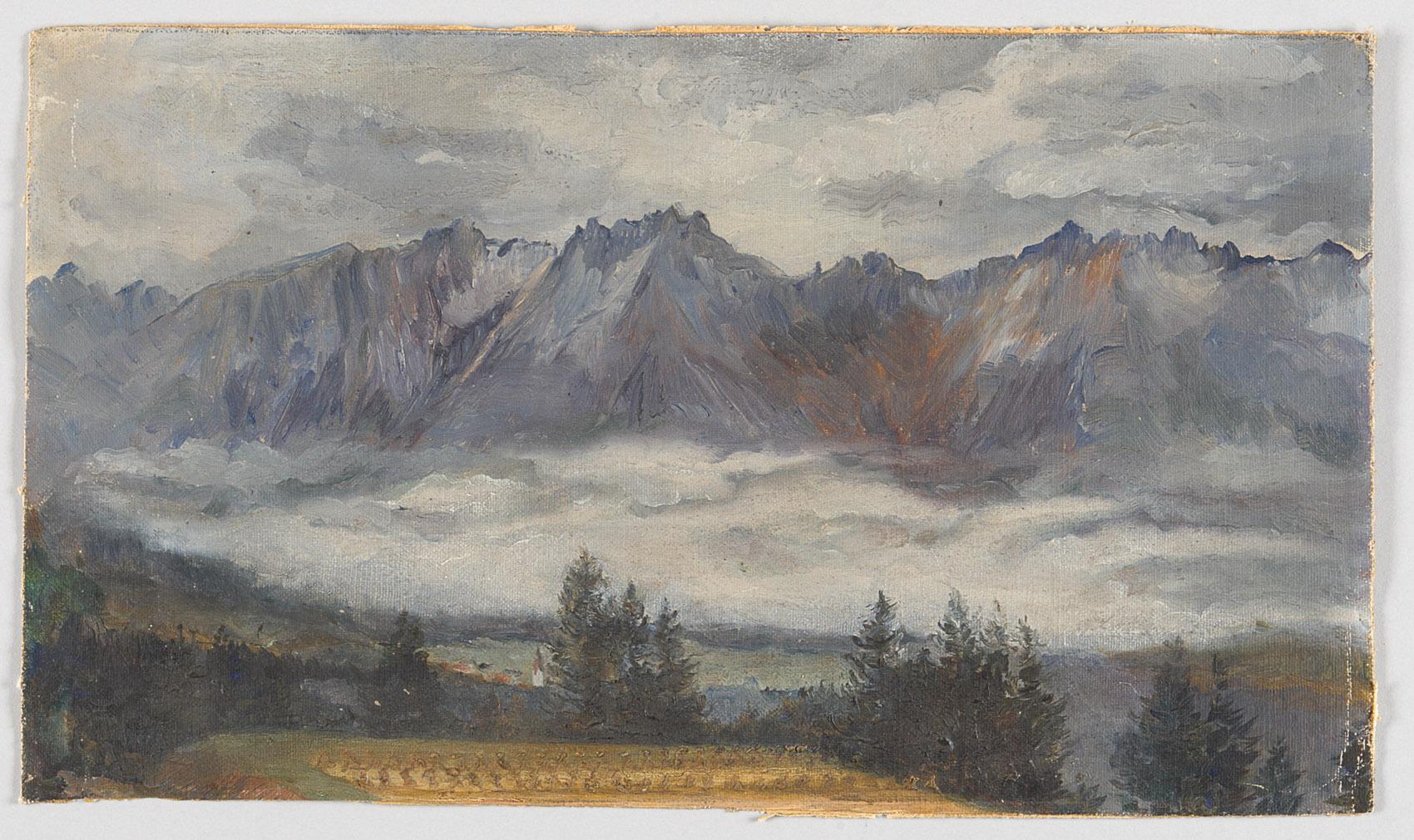 Gebirgslandschaft von Alfred Roller
