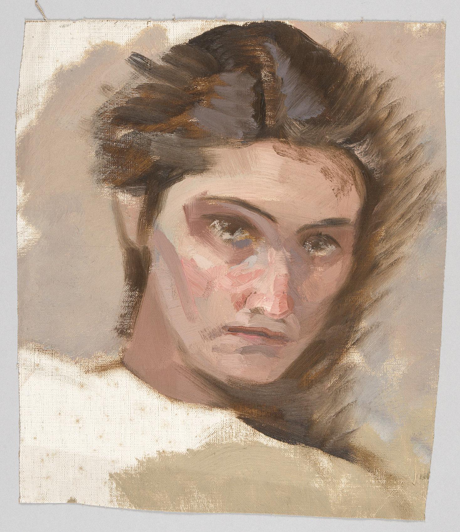 Porträt Mileva Roller von Alfred Roller