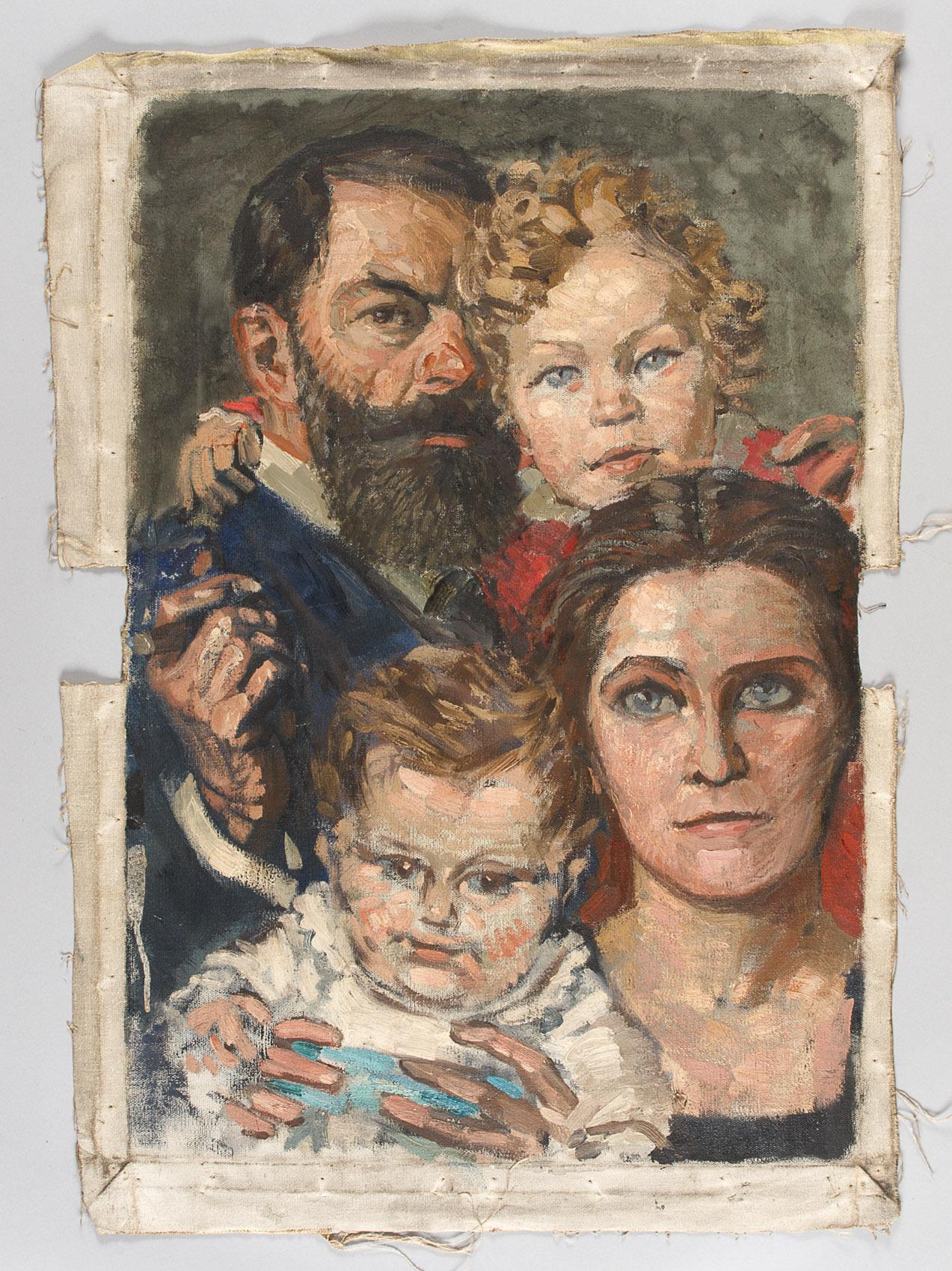 Familienporträt von Alfred Roller