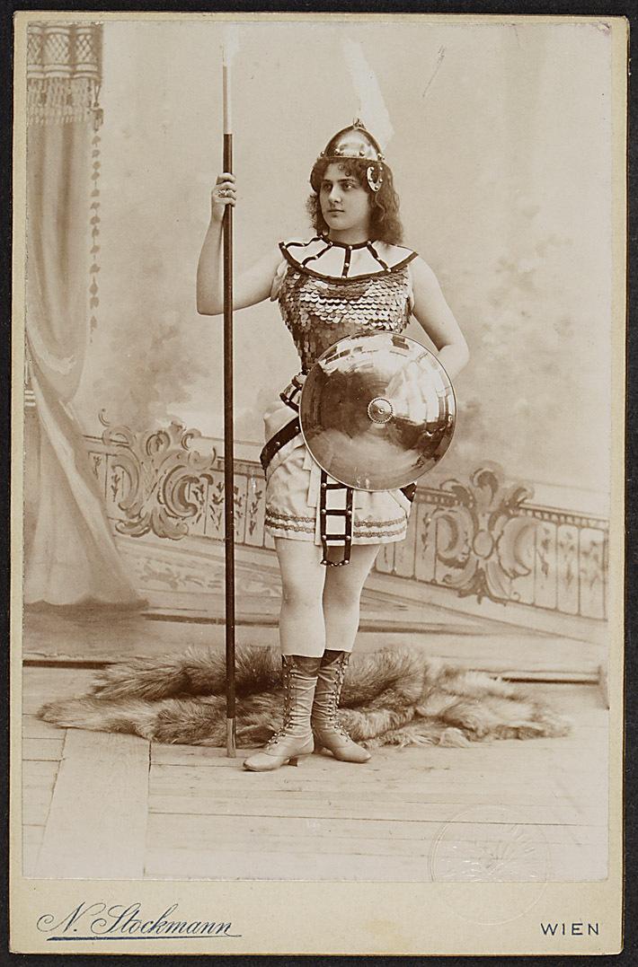 Maria Gay-Zenatello von Nikolaus Stockmann, Wien