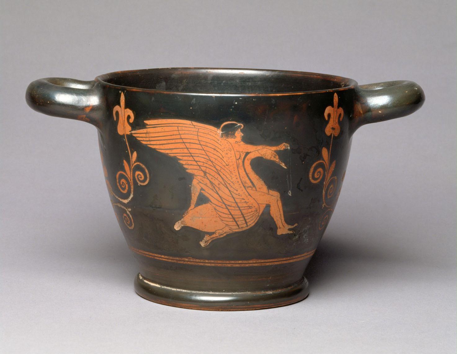 Hyakinthos auf Schwan und Zephyros