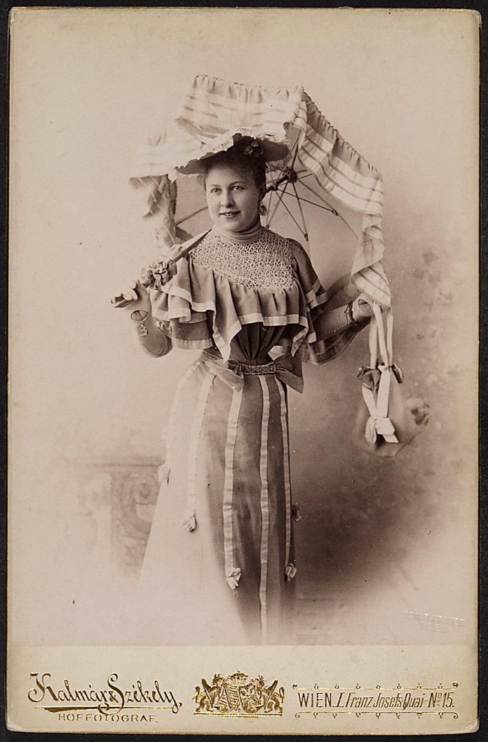 Betty Stojan von Kalmár & Székely, Wien