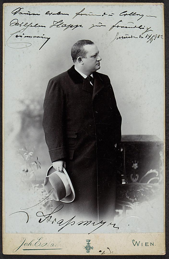 Leopold Strassmeyer von Johann E. Hahn, Wien
