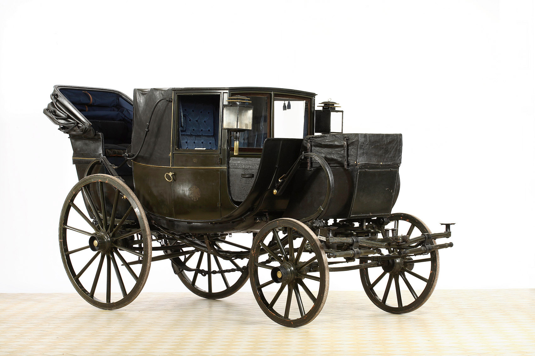 Reisewagen der Fürstin Wilhemine von Thurn und Taxis von Baxter & Pearce