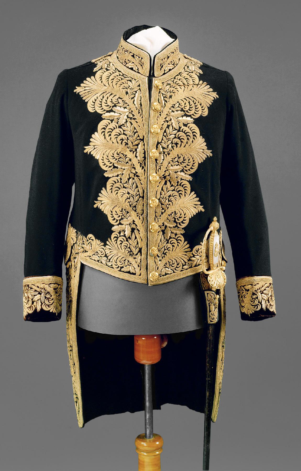 Gala-Uniform eines k. u. k. Geheimen Rates von Anton Uzel & Sohn