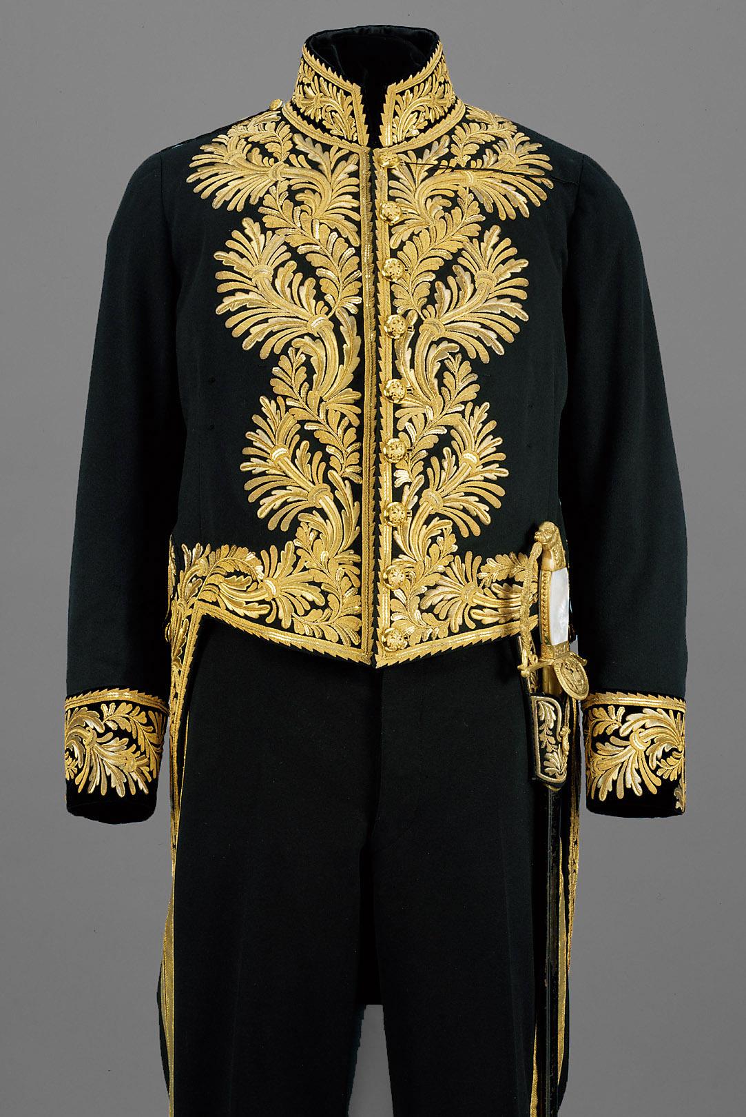 Frack von der Gala-Uniform eines Gesandten von Anton Uzel & Sohn