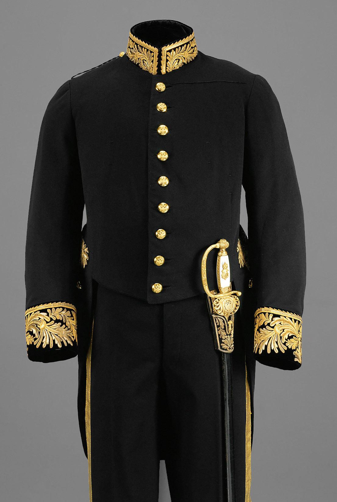 Campagne-Uniform eines Gesandten von Anton Uzel & Sohn