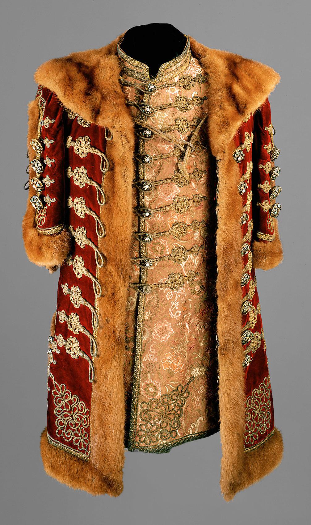 Gala-Kleid eines ungarischen Magnaten