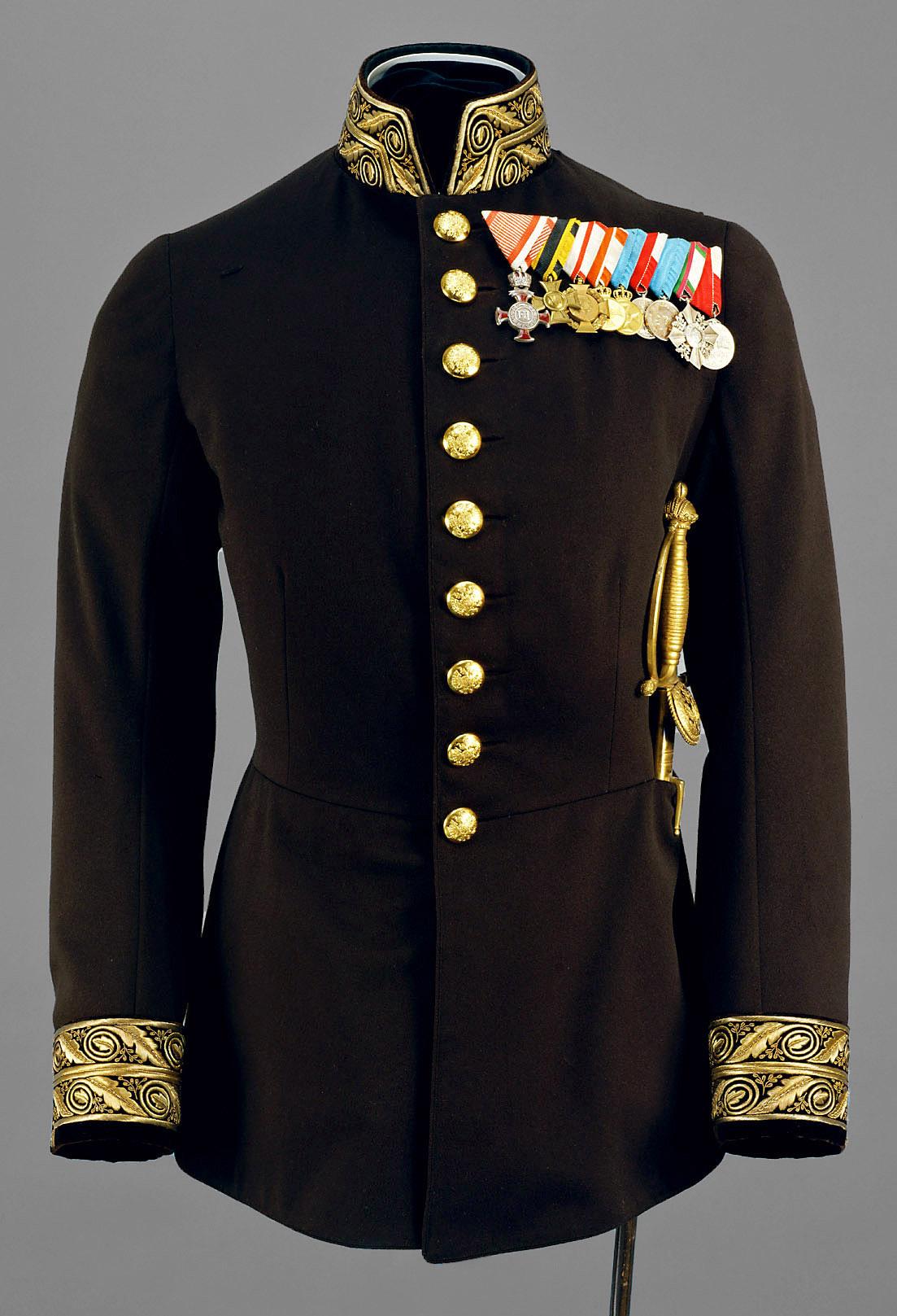 Campagne-Uniform eines Oberbereiters