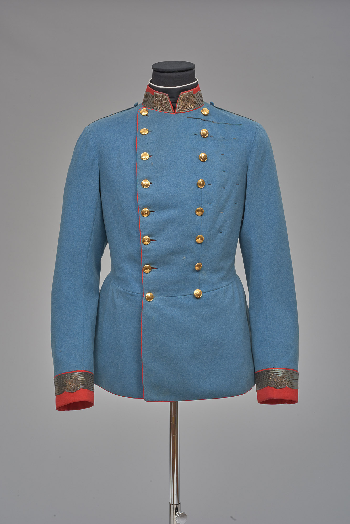 Waffenrock von der Campagne-Uniform eines österreichischen Feldmarschalls in deutscher Adjustierung aus dem Besitz von Kaiser Franz Joseph I. von Anton Uzel & Sohn