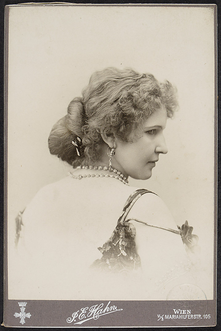 Frida Lanius von Johann E. Hahn, Wien