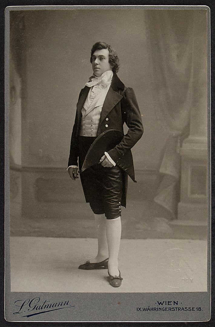 Adolf Lussmann von Ludwig Gutmann, Wien