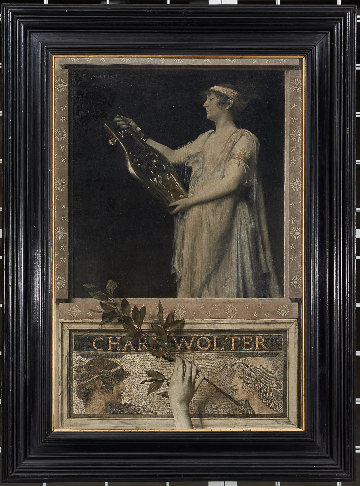 Charlotte Wolter als Sappho von Franz von Matsch
