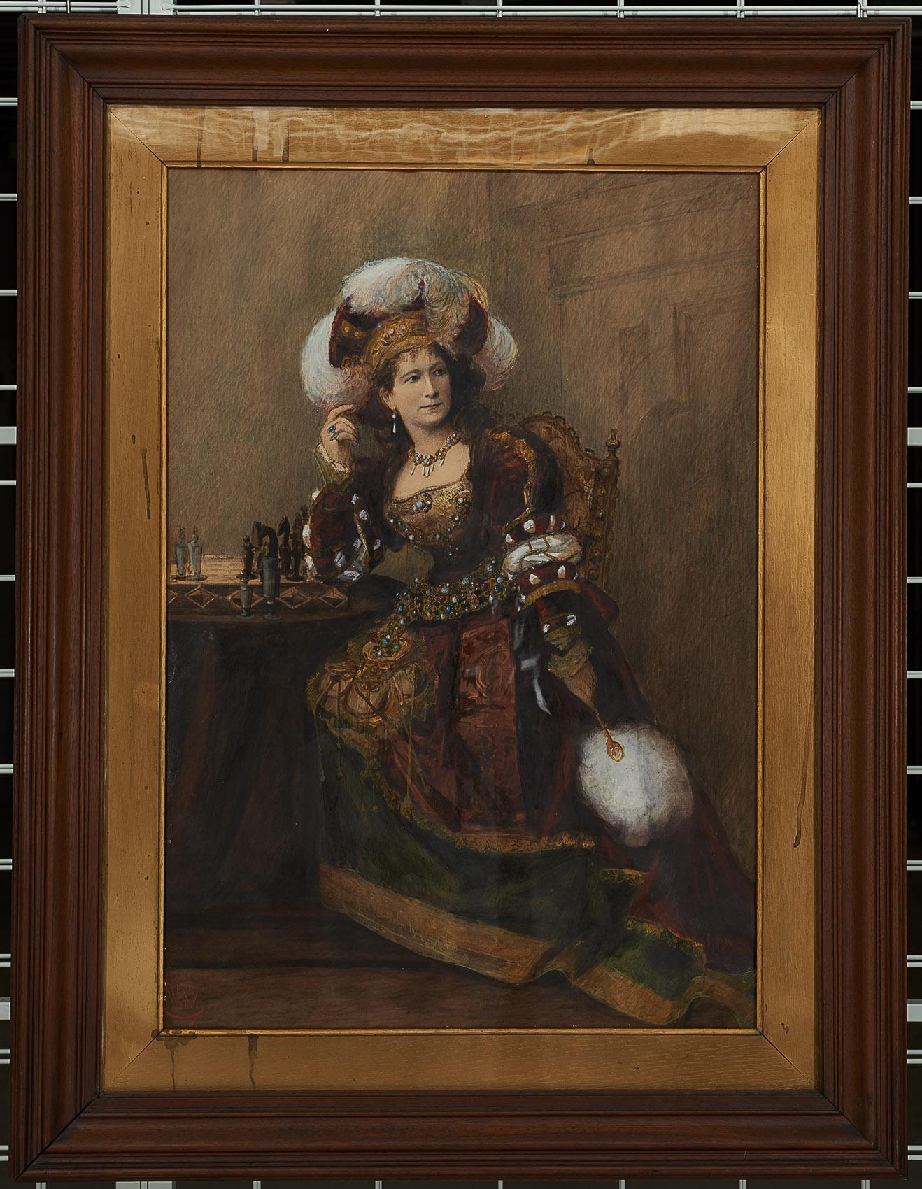 Charlotte Wolter als Adelheid von Paula Wasserburger