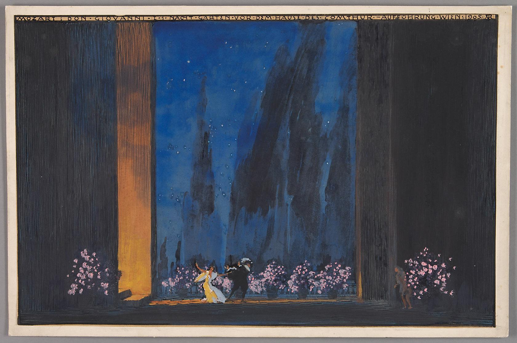 Don Giovanni von Alfred Roller