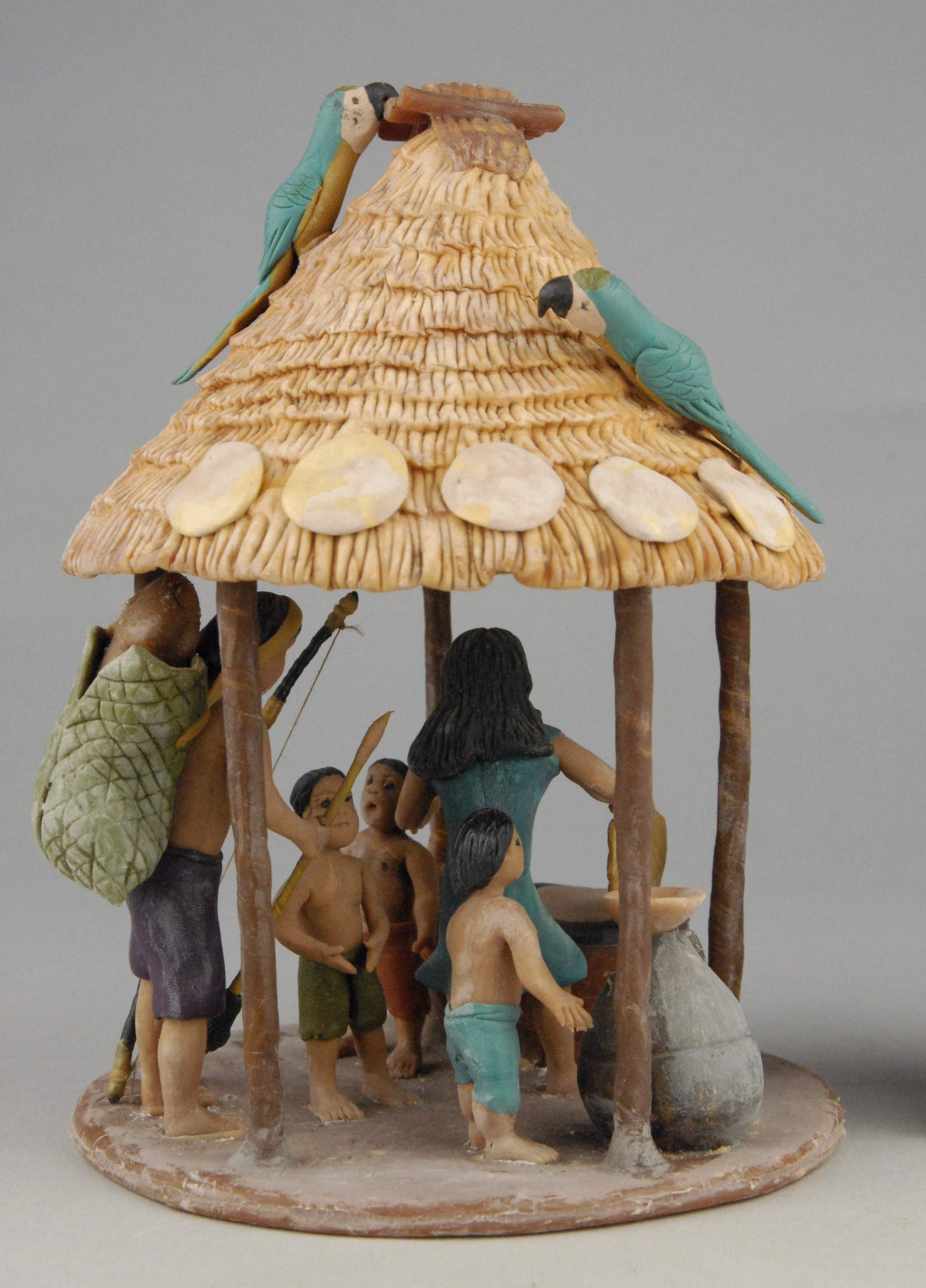 Hütte, Modell von George Tancredo