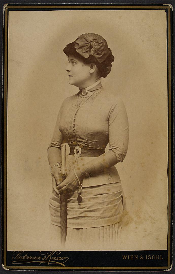 Rosa Streitmann von Stockmann & Knozer, Wien - Ischl