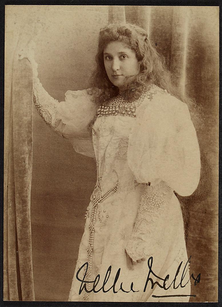 Nellie Melba von Reutlinger, Paris