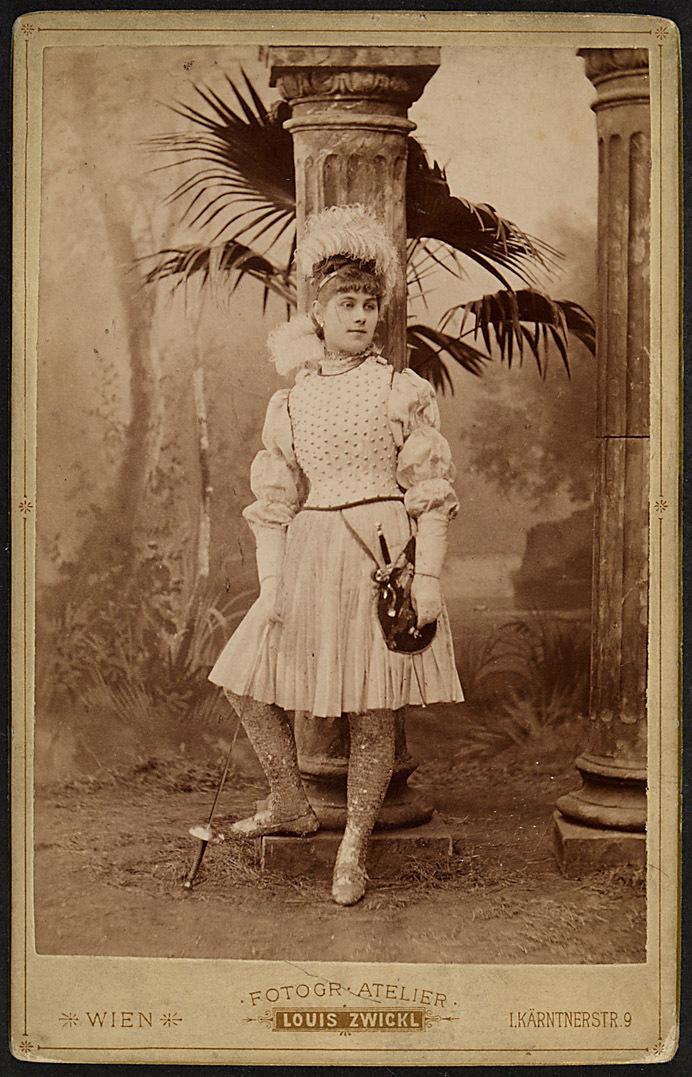 Anna Branché von Louis Zwickl, Wien