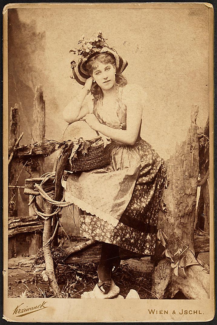 Betty Calliano von Rudolf Krziwanek, Wien - Ischl