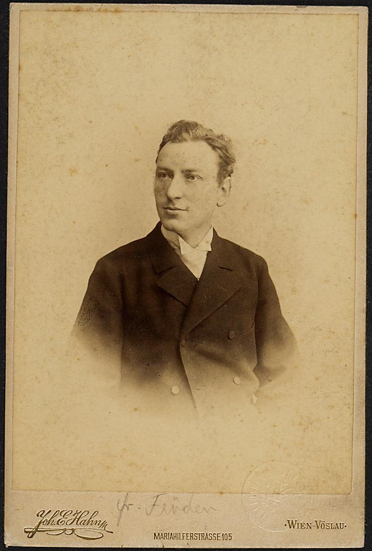 Adolf Fröden von Johann E. Hahn, Wien