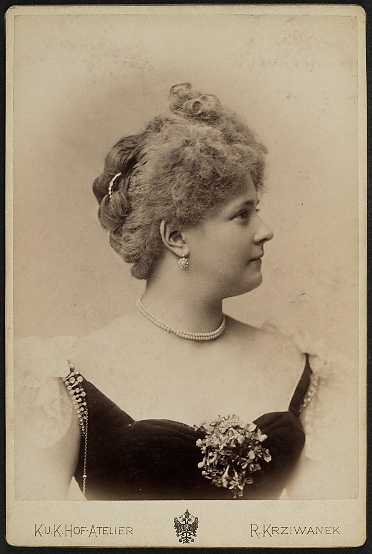 Johanna Frey von Rudolf Krziwanek, Wien - Ischl