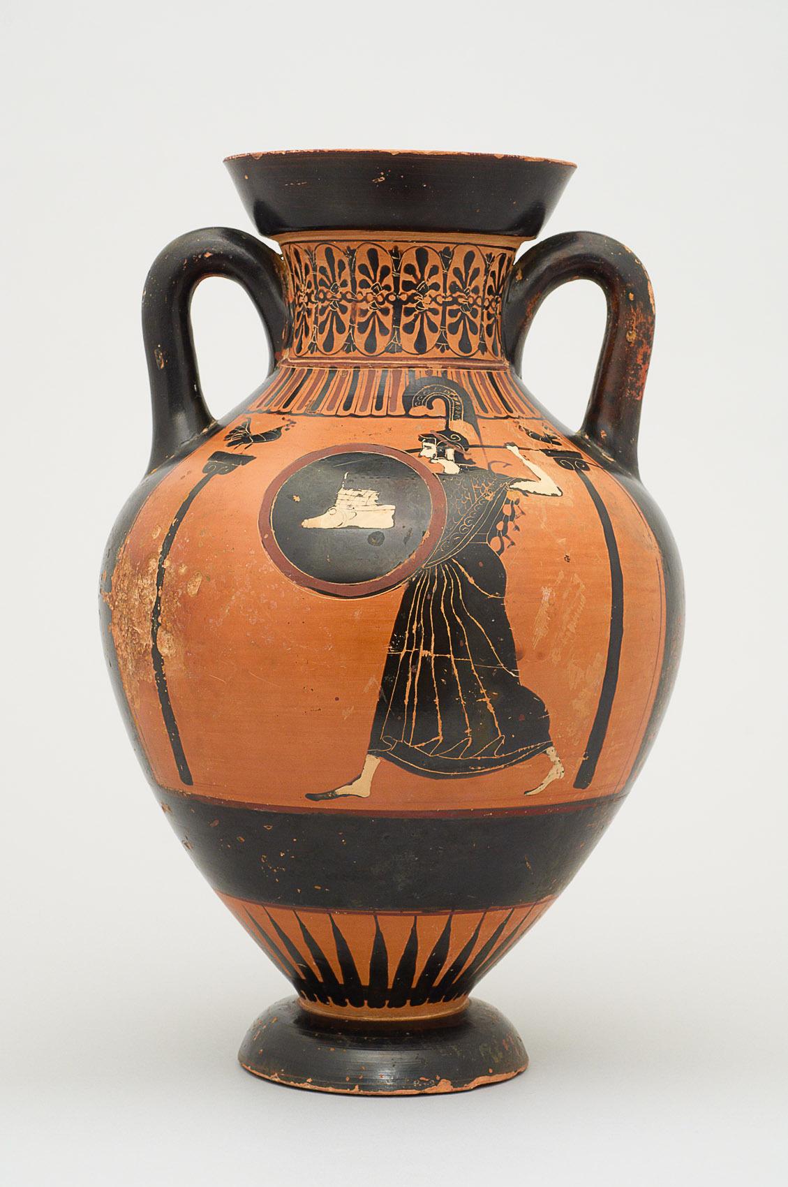 Pseudo-Panathenäische Preisamphora mit Athena