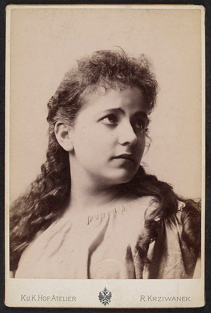 Sophie Wachner von Rudolf Krziwanek, Wien - Ischl